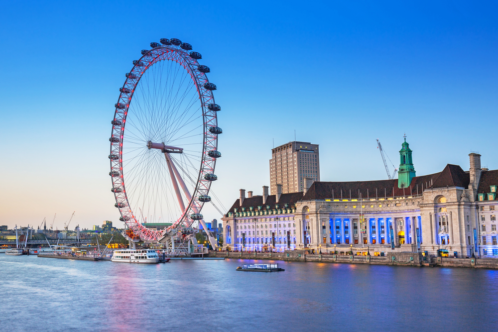 London Eye - Londres | Crédito: Shutterstock